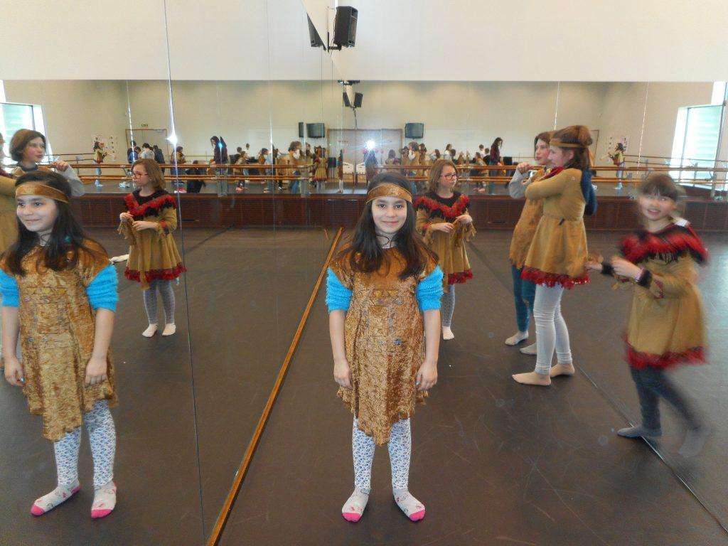 Répétition avec Costumes