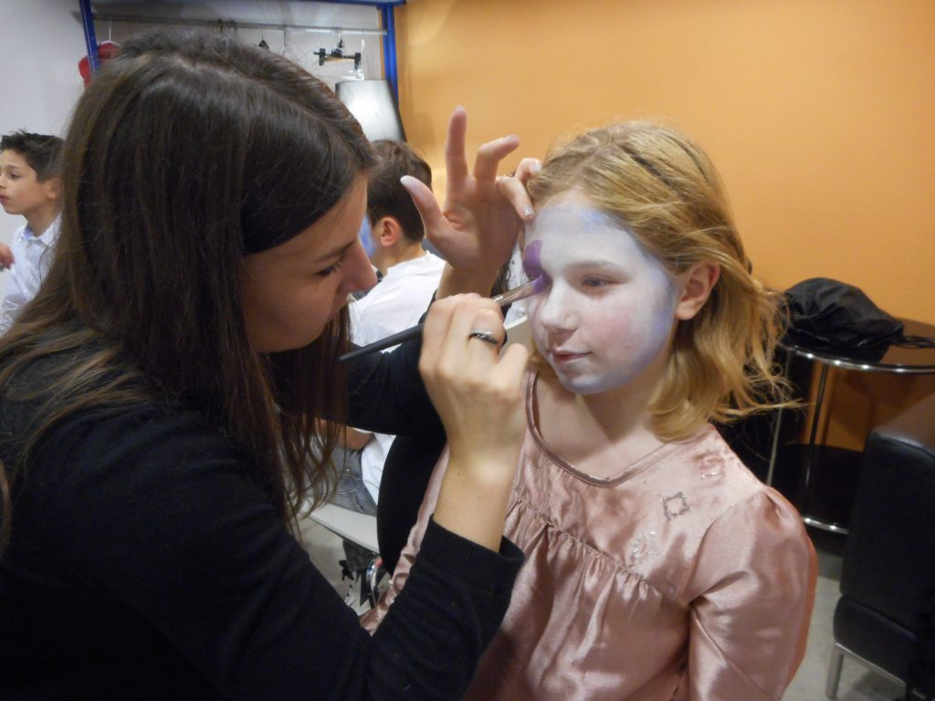 Essai maquillage Opéra